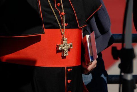 Präsent: Und der Kardinal hat dem Papst ein Geschenk mitberacht - ein neu erschienenes Buch über Petrus.